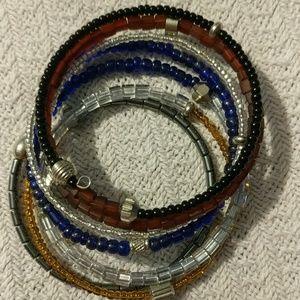 Handmade Beaded Wrap Bracelet